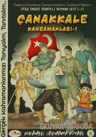 Canakkale Kahramanlari 1 Hikayeli Boyama Kitabi 4 Kolektif Ajans