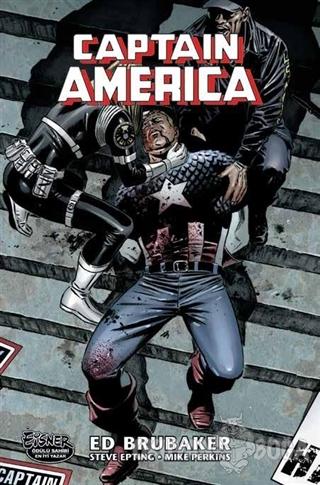 Captain America'nın Ölümü Cilt 1 - Ed Brubaker - Marmara Çizgi