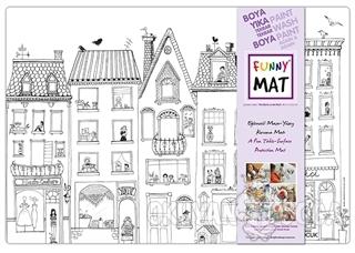 Funny Mat Çatıdaki Leylek Küçük Boy - Kolektif - Akademi Çocuk - Funny