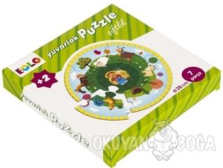 Çiftlik - Yuvarlak Puzzle