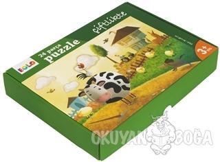 Çiftlikte - 24 Parça Yer Puzzle