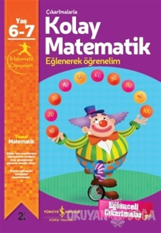 Çıkartmalarla Kolay Matematik 6-7 Yaş - Jo Chambers - İş Bankası Kültü