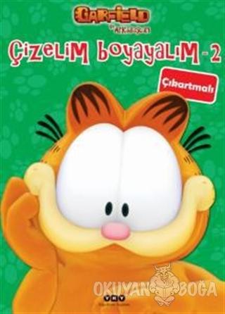 Çizelim Boyayalım 2 - Garfield ile Arkadaşları (Çıkartmalı) - Kolektif