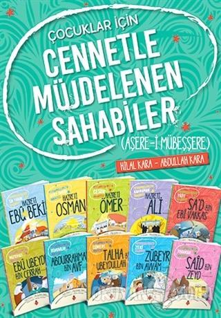 Çocuklar İçin Cennetle Müjdelenen Sahabiler Seti (10 Kitap Takım)