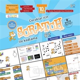 Çocuklar İçin Scratch İle Kodlama 6+ Yaş (Kartlı) - Hakan Ataş - Abakü