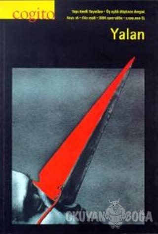 Cogito Sayı: 16 Yalan - Kolektif - Yapı Kredi Yayınları - Dergi