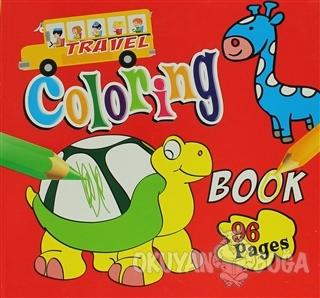Coloring Book 96 Pages (Red) - Kolektif - Crazy Notes