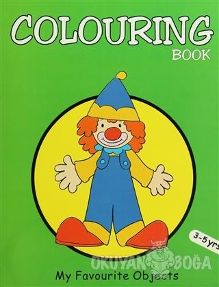 Colouring Book (Green) - Kolektif - Pegasus am Imprint