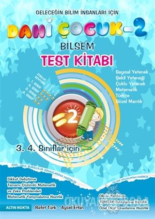 Dahi Çocuk - 2 Bilsem / Test Kitabı (3. 4. Sınıflar İçin) - Rafet Türk