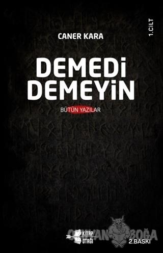 Demedi Demeyin (2 Cilt Takım)