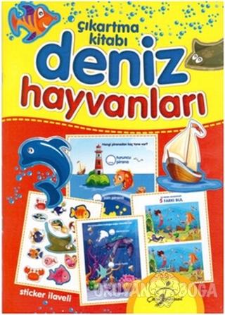 Deniz Hayvanları - Çıkartma Kitabı