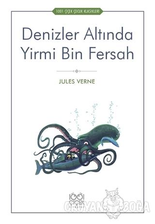 Denizler Altında Yirmi Bin Fersah - Jules Verne - 1001 Çiçek Kitaplar