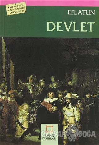 Devlet - Eflatun - Kare Yayınları - Okuma Kitapları