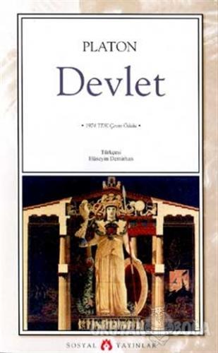 Devlet - Platon (Eflatun) - Sosyal Yayınları