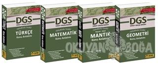 DGS Konu Anlatım Seti (4 Kitap Takım) - Kolektif - Tasarı Yayıncılık