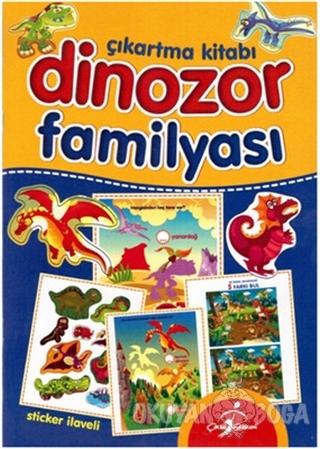 Dinozor Familyası - Çıkartma Kitabı
