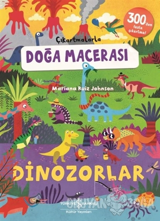 Dinozorlar - Çıkartmalarla Doğa Macerası Mariana Ruiz Johnson