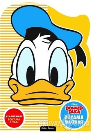 Disney Donald Duck Özel Kesimli Boyama Macerası