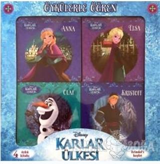 Disney Karlar Ülkes - Öykülerle Öğren (4 Kitap) (Ciltli) - Kolektif -