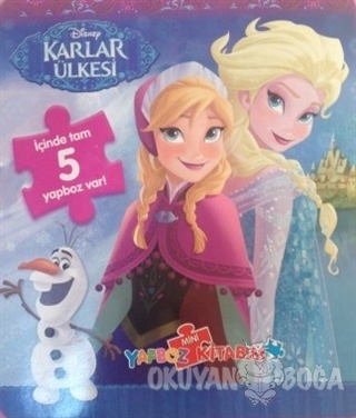 Disney Karlar Ülkesi - Mini Yapboz Kitabım - Kolektif - Doğan Egmont Y