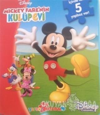 Disney Mickey Fare'nin Kulüp Evi - Mini Yapboz Kitabım - Kolektif - Do