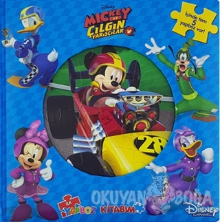 Disney Mickey ve Çılgın Yarışçılar İlk Yapboz Kitabım - Kolektif - Doğ