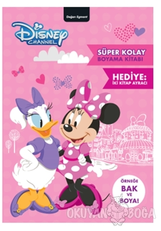 Disney Minnie Süper Kolay Boyama Kitabı - Kolektif - Doğan Egmont Yayı
