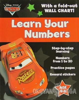 Disney Pixar Cars : Learn Your Numbers - Kolektif - Parragon