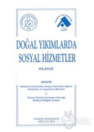 Doğal Yıkımda Sosyal Hizmetler - Komisyon - SABEV Yayınları