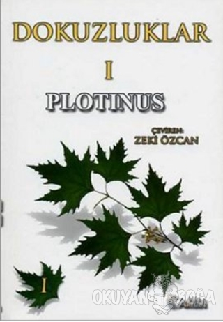 Dokuzluklar - 1 - Plotinus - Alfa Aktüel Yayınları
