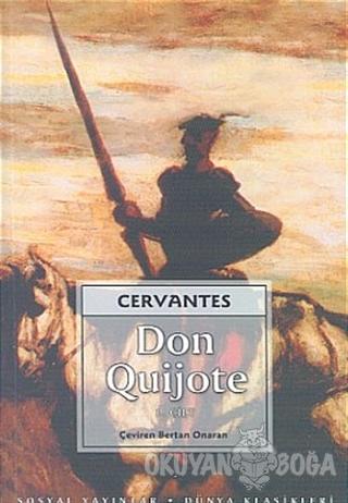 Don Quijote 2 Cilt Takım - Miguel de Cervantes - Sosyal Yayınları