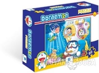 Doraemon 60 Parça Puzzle - 1 - Kolektif - Gizzy Art