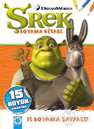 DreamWorks - Şhrek Boyama Kitabı - Kolektif - Artemis Yayınları