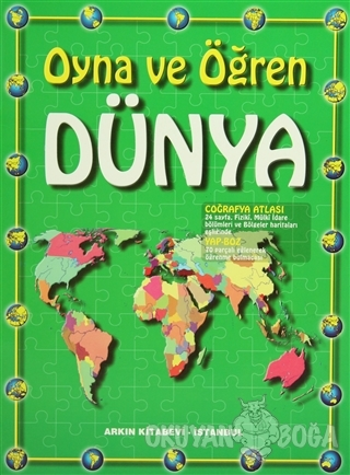 Dünya Atlası - Kolektif - Arkın Kitabevi