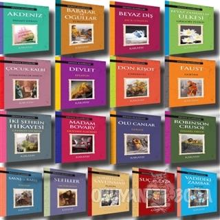 Dünya Klasikleri Seti (17 Kitap Takım) - Kolektif - Karatay Yayınları