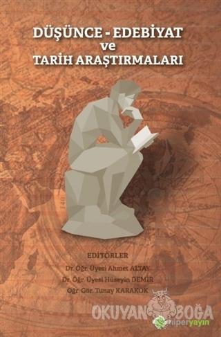 Düşünce Edebiyat ve Tarih Araştırmaları