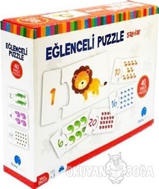 Eğlenceli Puzzle Sayılar  Büyük Boy 40 Parça