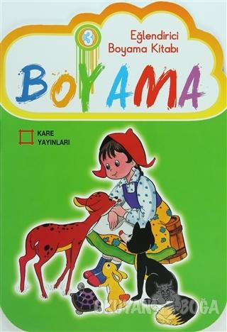 Eğlendirici Boyama Kitabı 3 - Kolektif - Kare Yayınları - Özel Ürün