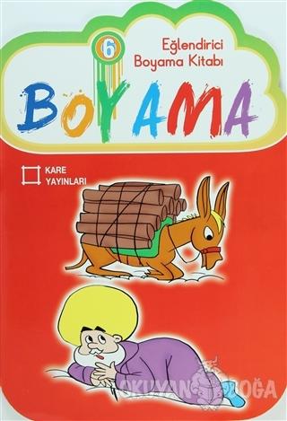 Eğlendirici Boyama Kitabı 6 - Kolektif - Kare Yayınları - Özel Ürün