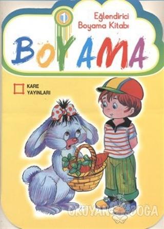 Eğlendirici Çiz - Boya Serisi (6 Kitap) Boyama - Yüksel Akman - Kare Y