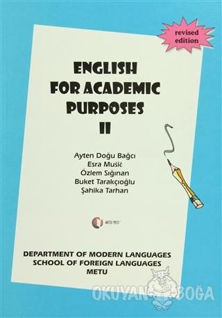 English For Academic Purposes 2 - Ayten Doğu Bağcı - ODTÜ Geliştirme V