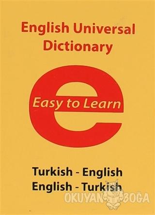 English Universal Dictionary - Easy to Learn (Ciltli) - Alper Arslan -