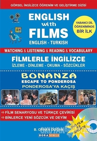 English with Films Bonanza - Escape to Panderosa (DVD Film İle Birlikte)