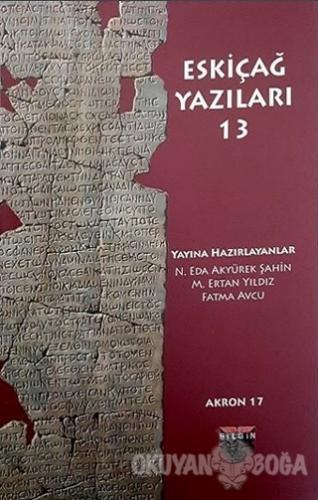 Eskiçağ Yazıları 13
