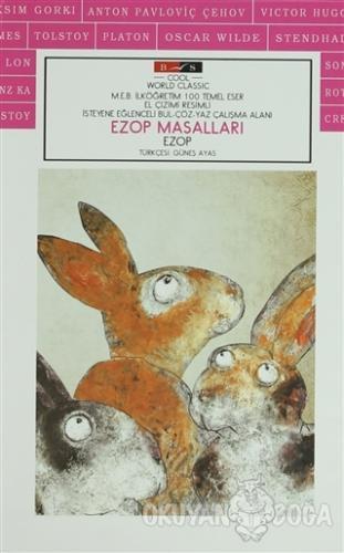 Ezop Masalları (Cool) - Ezop - Bordo Siyah Yayınları