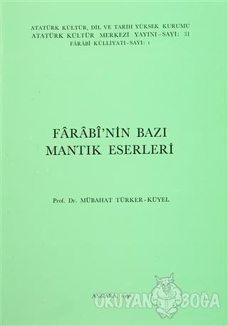 Farabi'nin Bazı Mantık Eserleri