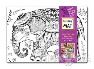 Funny Mat 1002 Fil Mandala - Kolektif - Akademi Çocuk - Funny Mat