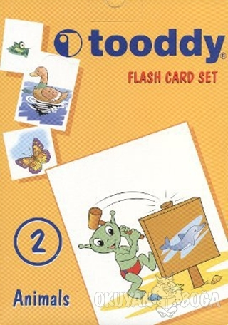 Flash Card Set: 2 (Animals / Hayvanlar) - Kolektif - Tudem Yayınları