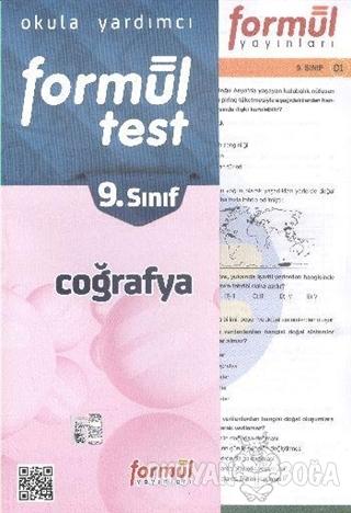 Formül 9. Sınıf Coğrafya Yaprak Test - Komisyon - Formül Yayınları - D