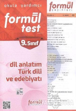 Formül 9. Sınıf Dil Anlatım Türk Dili ve Edebiyatı Yaprak Testler - Ko